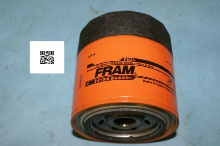 1967 Cadillac Firebird Etc Oil Filter, Fram PH25, New